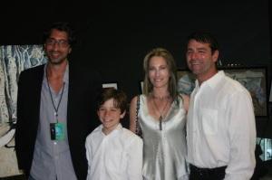 AdamCushman,LucAustin&parents PIC-MarianneSteinberg