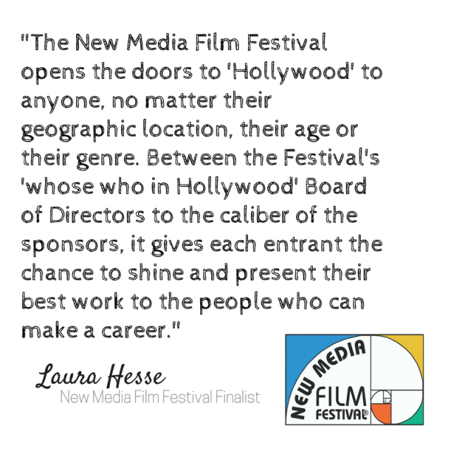 _The New Media Film Festival opens the doors to 'Hollywood' to anyone, no matter their geographic location, their age or their g